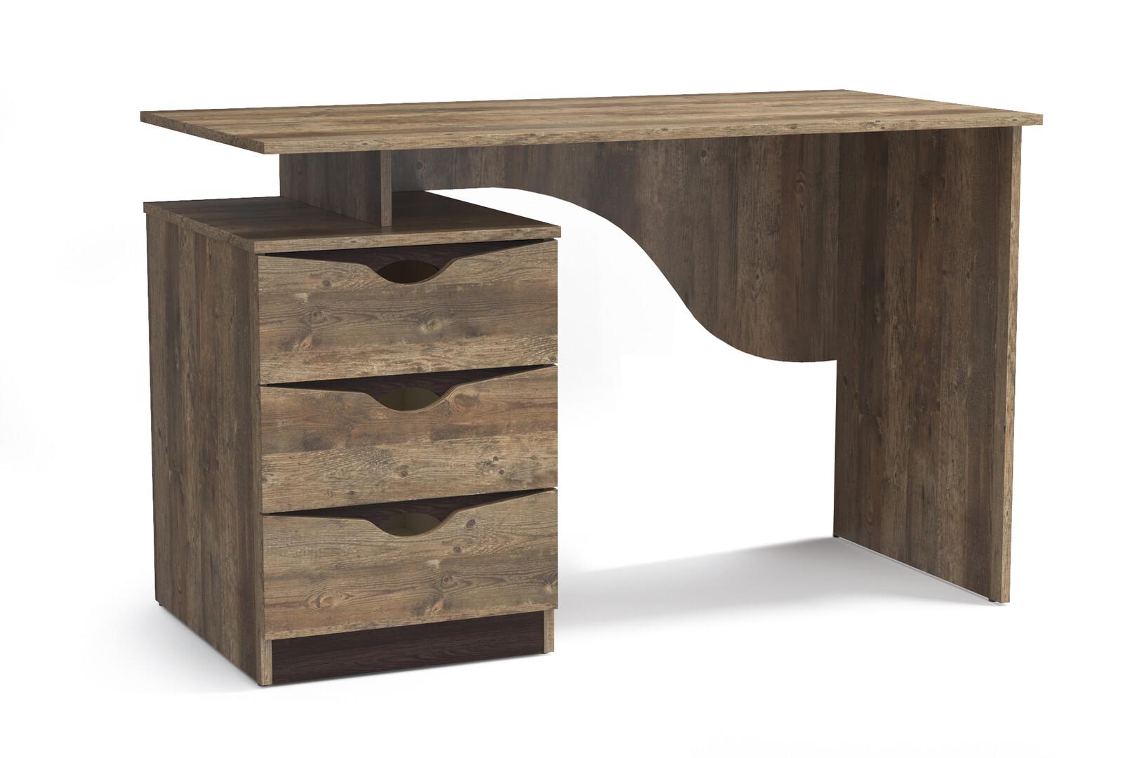 Письменный стол 33.23 Лючия (кейптаун/венге)
