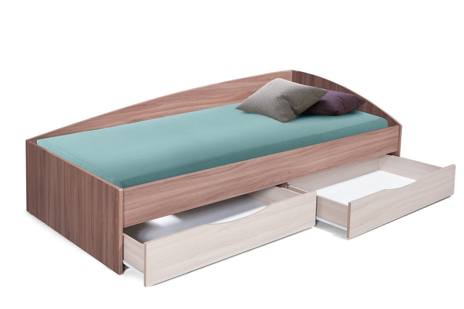 Кровать Фея-3 (шимо темный/светлый)