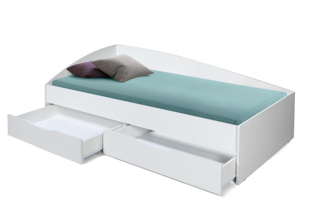 Кровать Фея-3 NEW (белый)