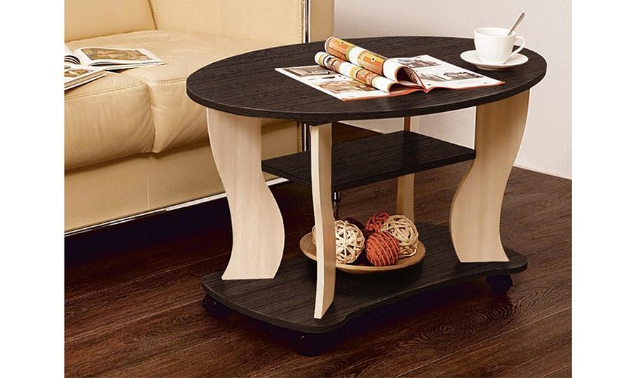 Журнальный столик Сатурн-М05 (венге/дуб линдберг)