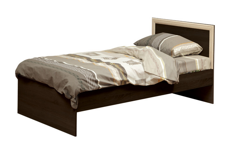 Кровать 21.55 с настилом (венге)