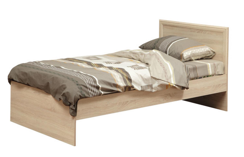 Кровать 21.55 с настилом (дуб сонома)