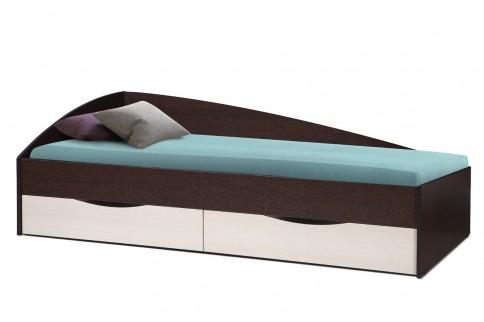 Кровать Фея-3 (венге/дуб линдберг)