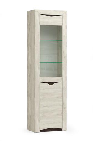 Шкаф 33.14-01 (бетон пайн белый/венге)