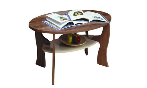Журнальный столик Маджеста-4 (ясень шимо темный/ясень шимо светлый)