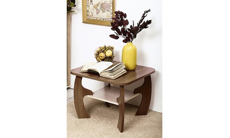 Журнальный столик Маджеста-5 (ясень шимо темный/ясень шимо светлый)