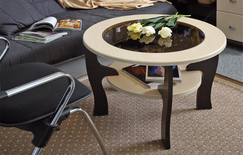 Журнальный столик Маджеста-6 (венге/дуб линдберг)