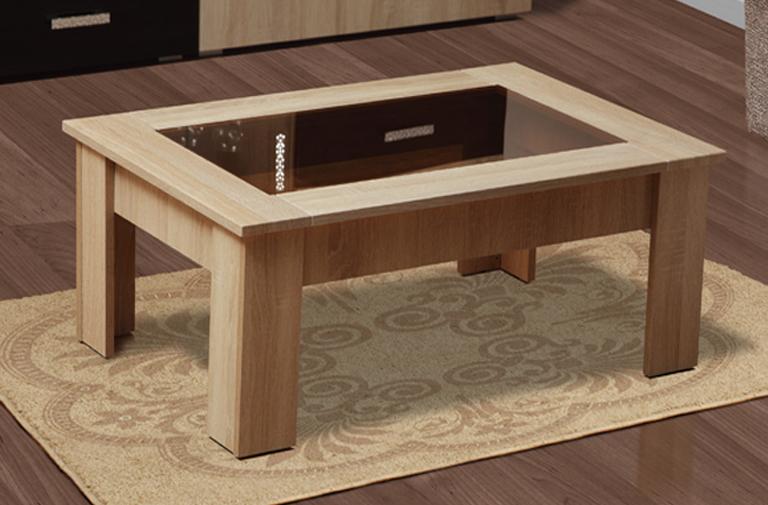 Журнальный столик Маджеста-8 (дуб сонома)