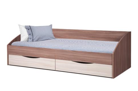 Кровать Фея с ящиками (шимо темный/светлый)