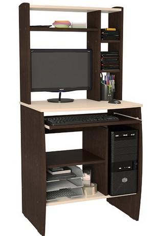 Компьютерный стол Юпитер-М02 (венге/дуб линдберг)