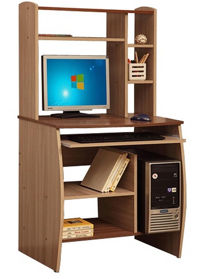 Компьютерный стол Юпитер-М02 (ясень шимо светлый/темный)