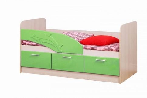 Кровать 06.222 Дельфин (эвкалипт)
