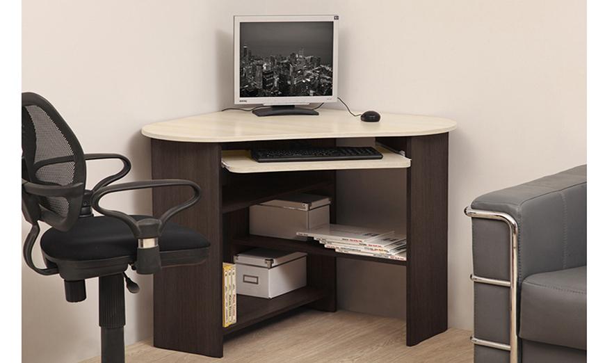 Компьютерный стол ПКС-4 (венге/дуб линдберг)