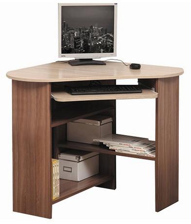 Компьютерный стол ПКС-4 (ясень шимо темный/ясень шимо светлый)