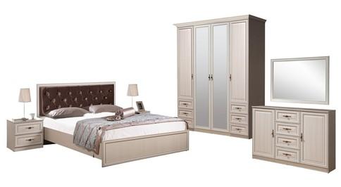 Комлект мебели для спальни Габриэлла (вудлайн кремовый)
