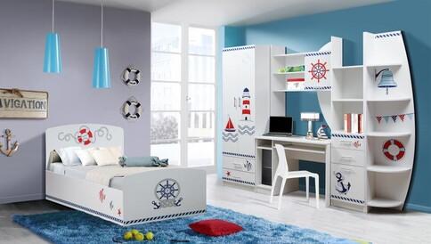 Комплект мебели Лего кораблик (белый)