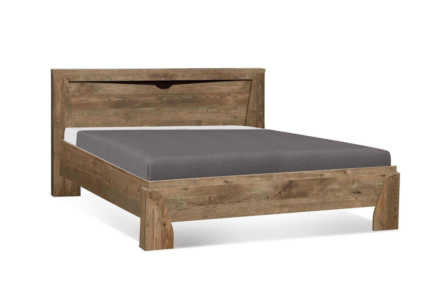 Кровать 33.09-01 Лючия (кейптаун/венге)