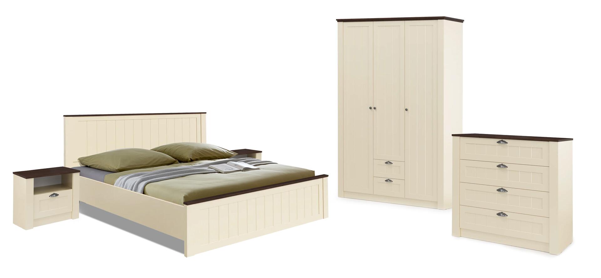 Комплект мебели для спальни Прованс (бежевый/дуб кальяри)