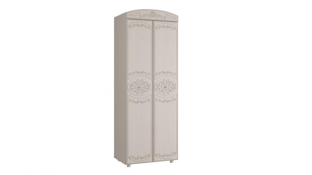 Шкаф 2-х дверный Каролина (вудлайн кремовый/сандал белый)