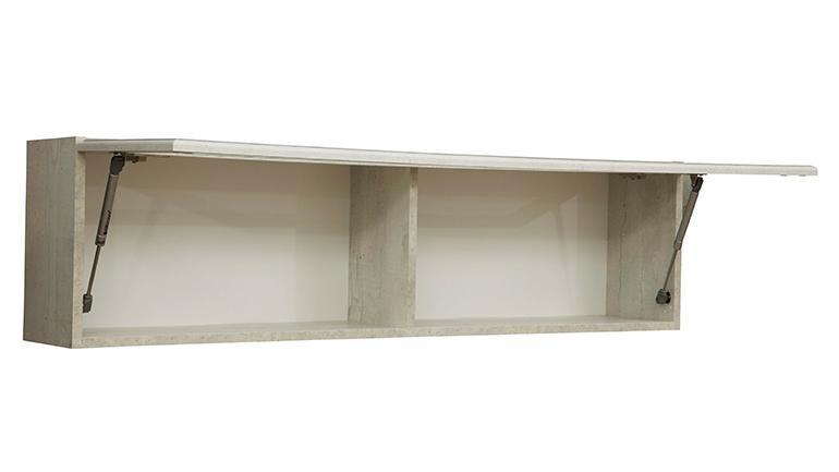 Полка навесная 32.18 Сохо (бетон пайн белый)