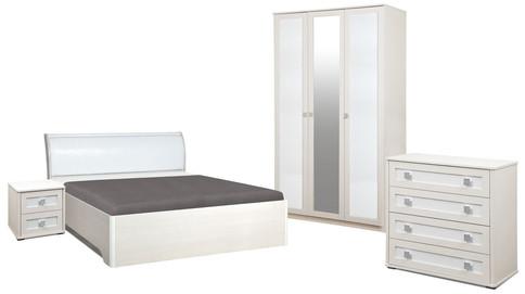 Комплект мебели для спальни Мона 3 (крем)