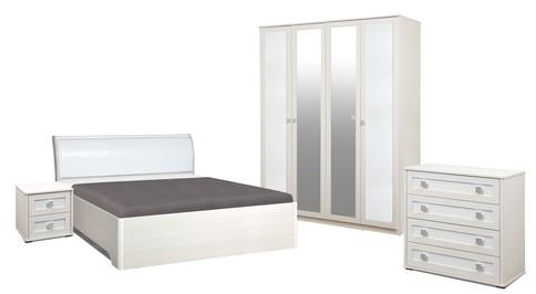 Комплект мебели для спальни Мона 4 (крем)