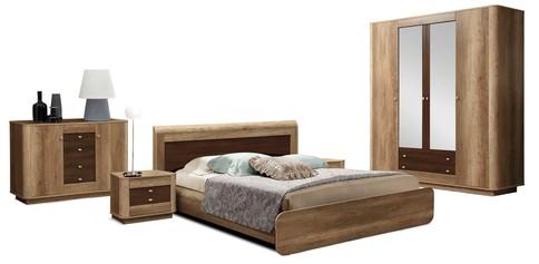Комплект мебели для спальни Фантазия (дуб каньон/дуб кальяри)