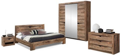 Комплект мебели для спальни Лючия 4-х дверный (кейптаун/венге)